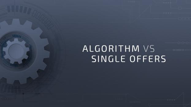 Algorithm vs Single Offers