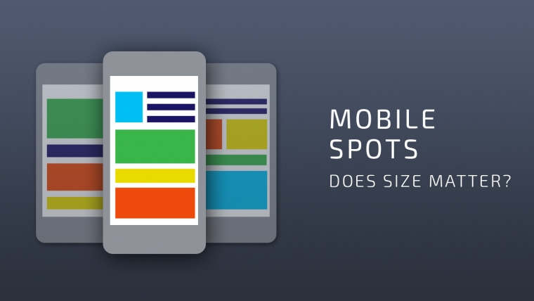 mobile ad formats and sizes