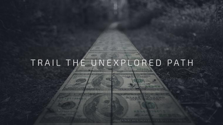 Trail The Unexplored Path Explore Gold Mines