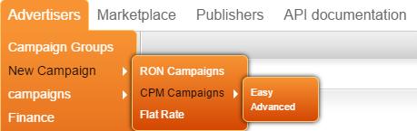 режим кампании CPM ero ads