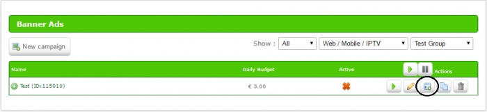 ero ads daily budget