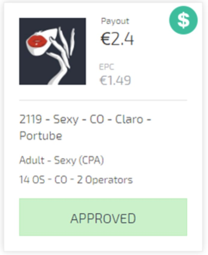 sexy claro approved offer