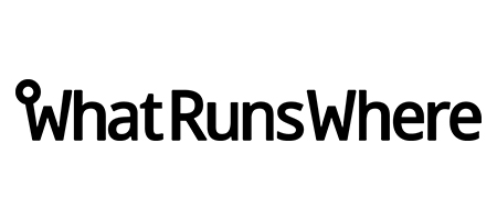 whatrunswhere ad spy tool logo
