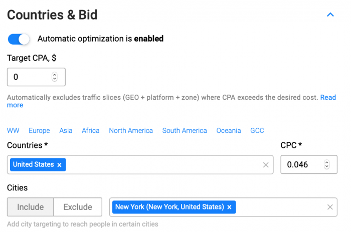 countries and bid on propellerads