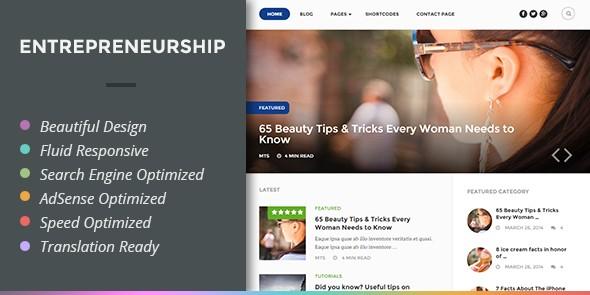 Entrepreneurship theme