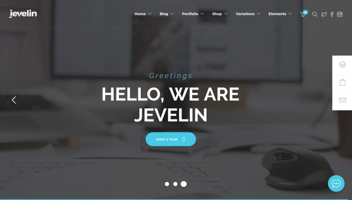 jevelin theme