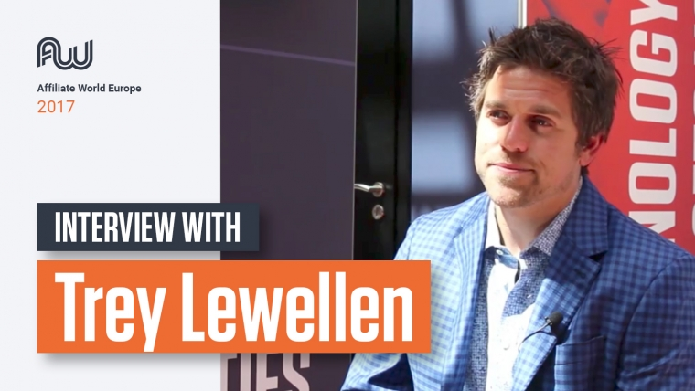 Trey Lewellen affiliate world europe 2017 interview
