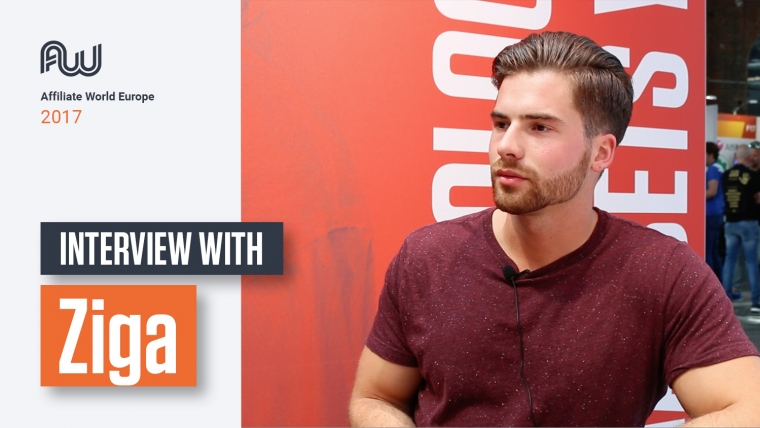 affiliate world europe interview ziga