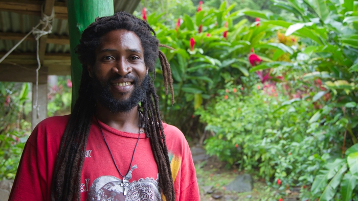 person in jamaica