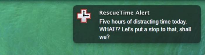 rescuetime_alert