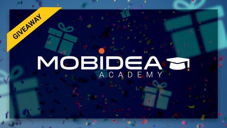 mobidea academy giveaway