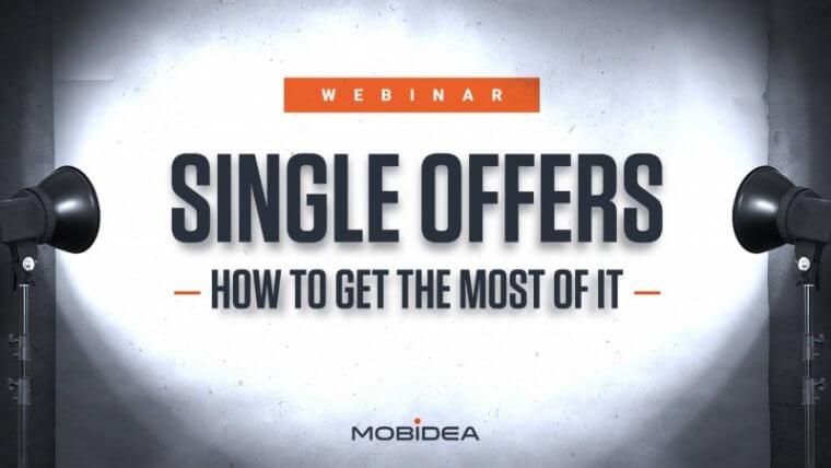 single offers webinar