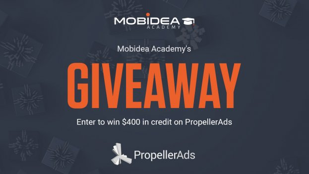 propeller ads giveaway