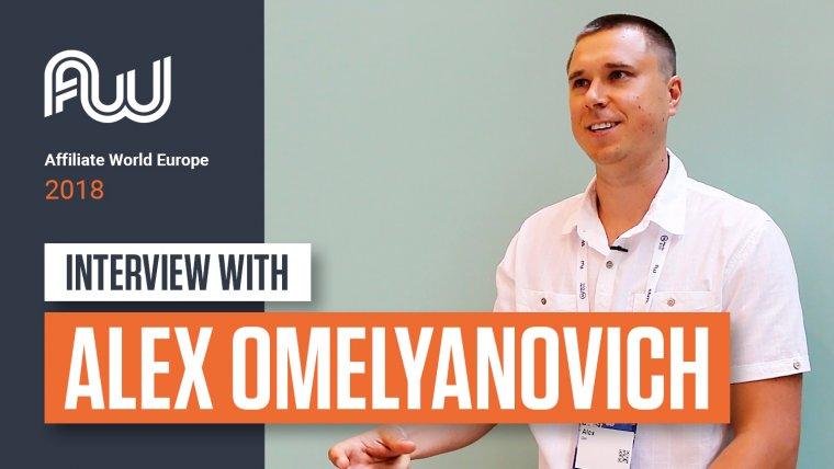 AWE 2018 Alex Omelyanovich
