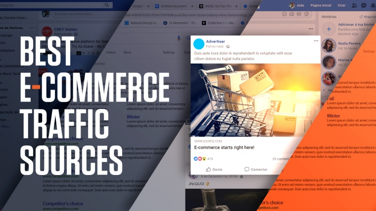ecommerce traffic sources