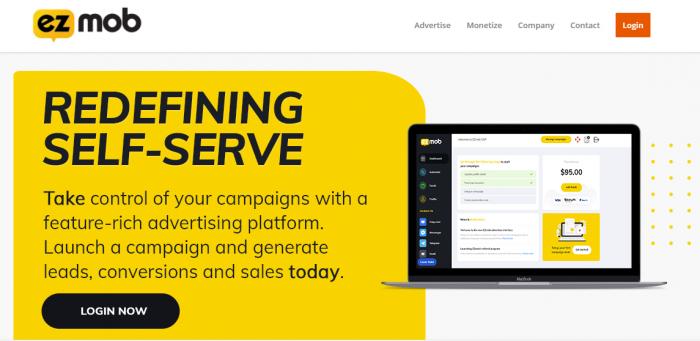ezmob native ad network
