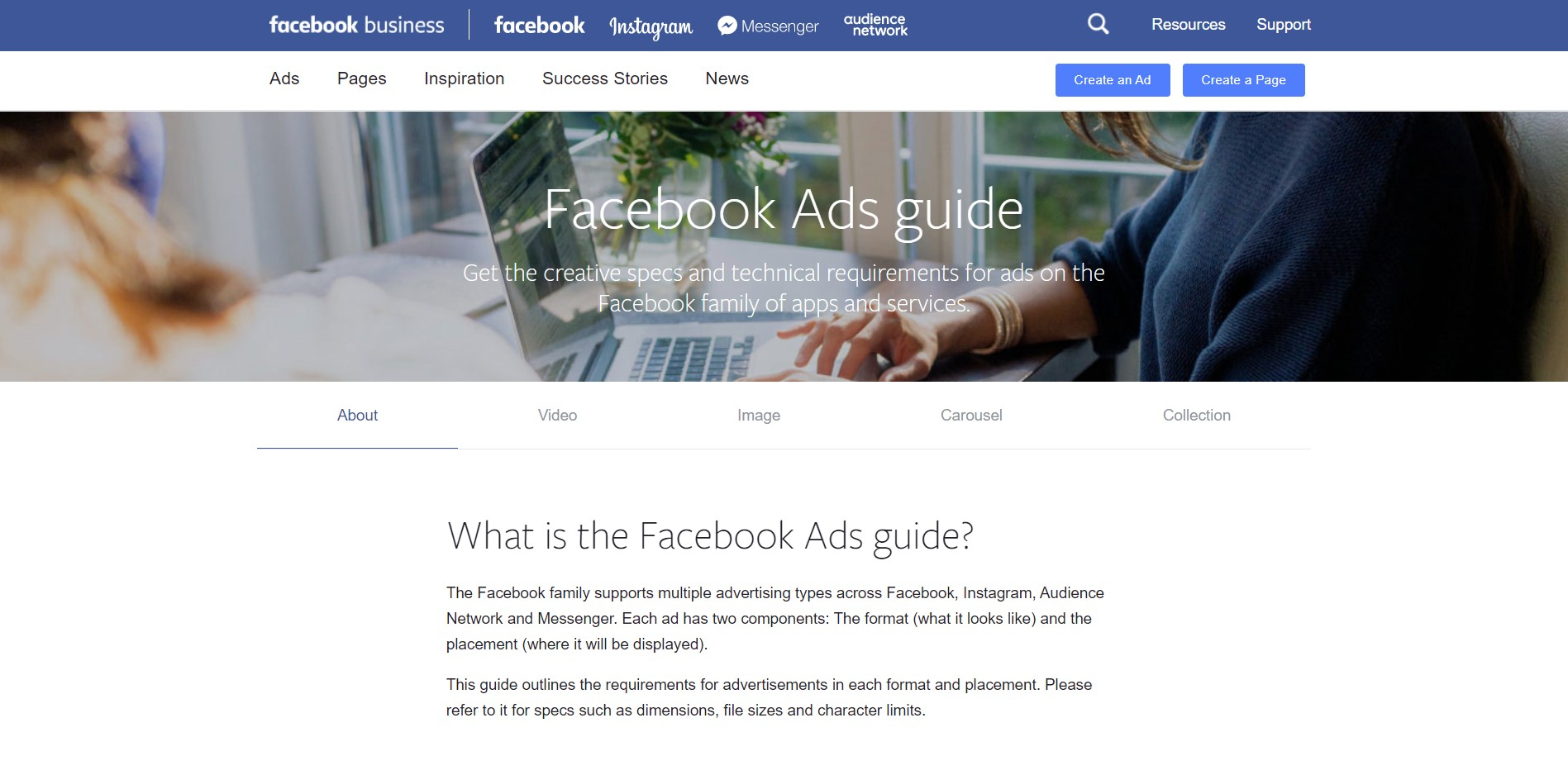 Best facebook ads courses and guides in 2018 1 facebook ads guide malvernweather Image collections