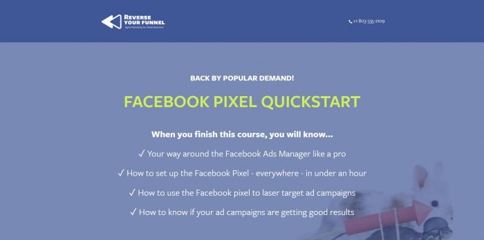 facebook pixel quickstart