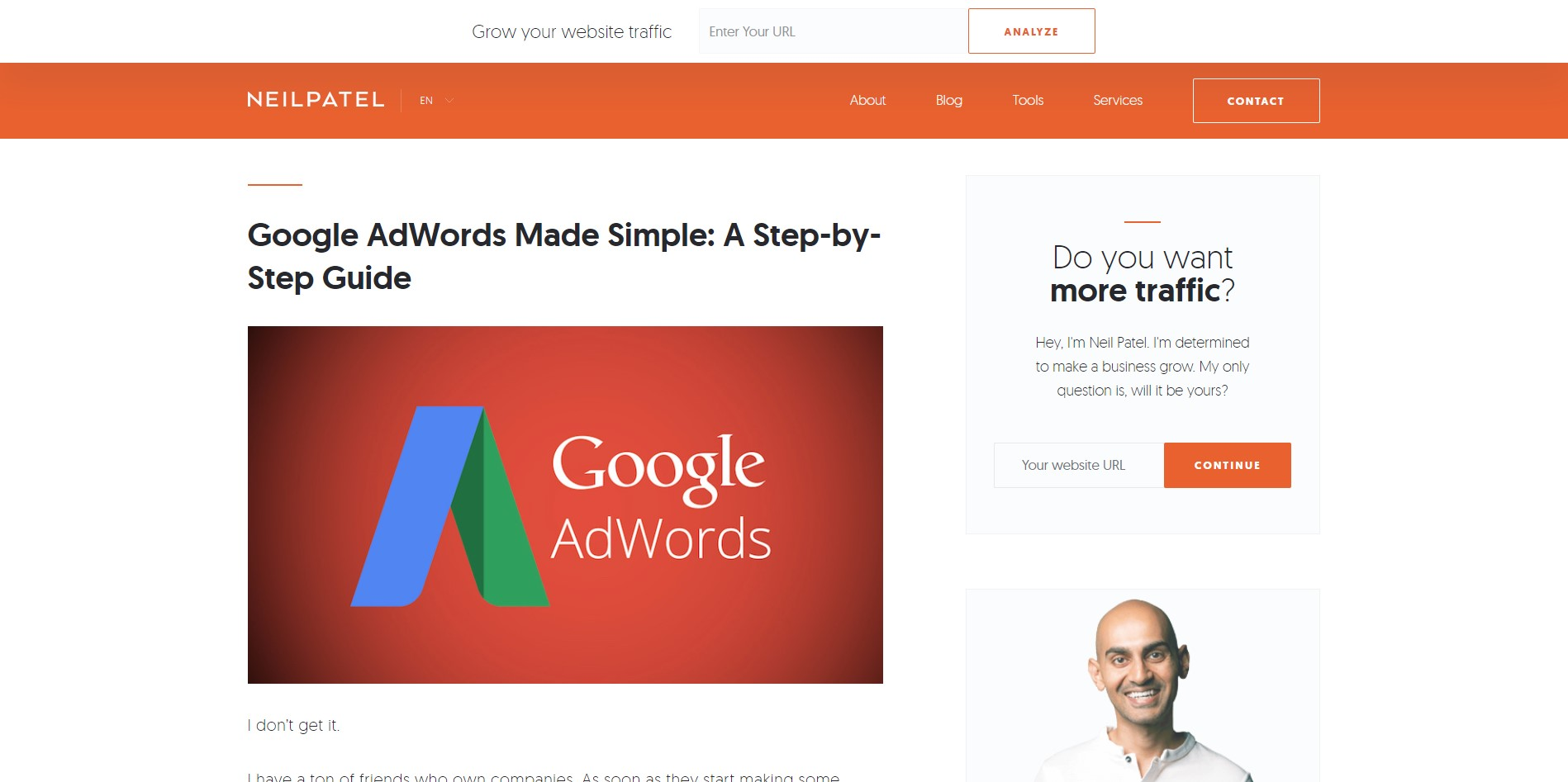 1. Neil Patel's Google AdWords Made Simple: A Step-by-Step Guide