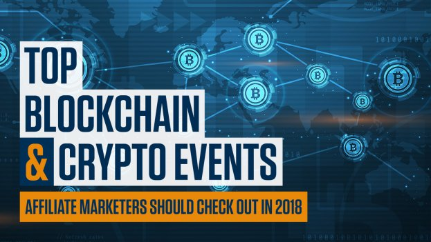 top blockchain and crypto events