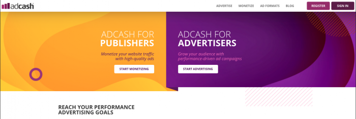 adcash native network