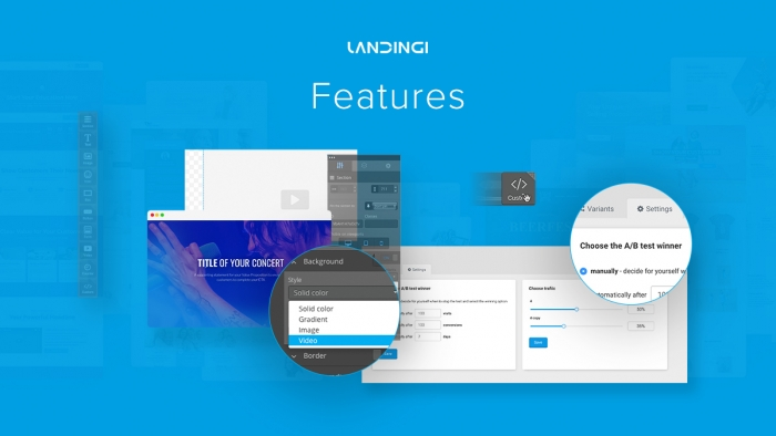 landingi features
