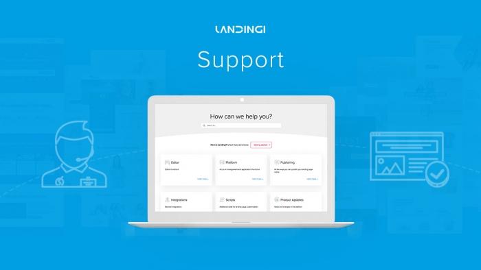 landingi support
