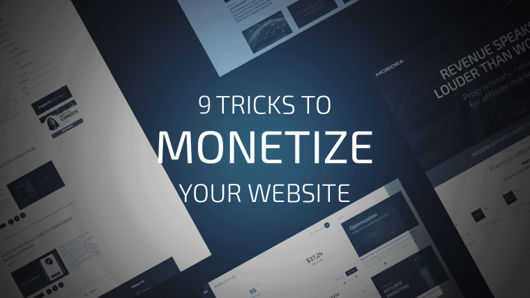 monetize a website