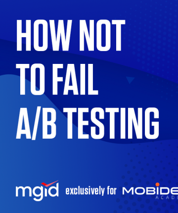 how not to fail ab testing