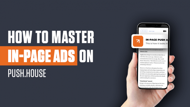Master In-Page Ads on Push.House Ad Network